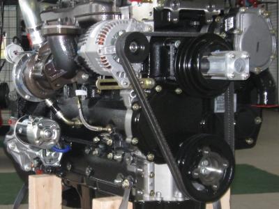 Motore Perkins nuovo 1104D 4 cilindri