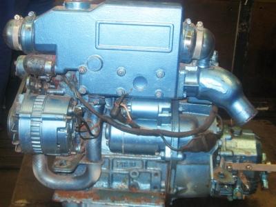 Motore marino Perkins rigenerato - motori Perkins revisionati