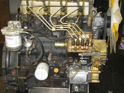 Motore Perkins rigenerato Serie 400 4 cilindri