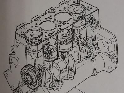 motore alleggerito Perkins