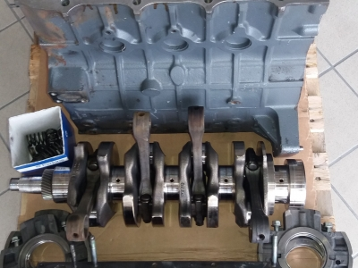 Motore Perkins 4 cilindri usato